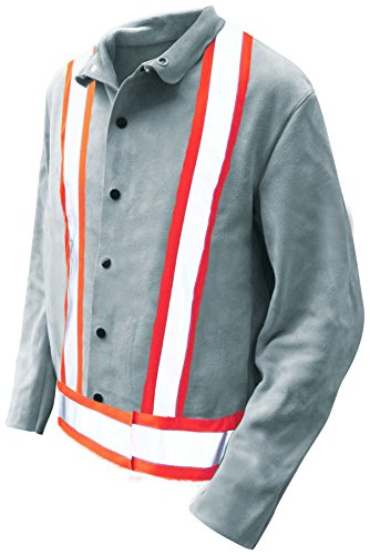 Bob Dale Gloves 63149PFRX4L Welding Jacket Split Cowhide ...