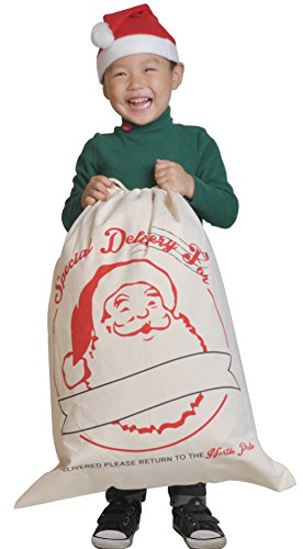 Father Of The Year Halo Costume (HUAN XUN Santa Sack Christmas Gift Bag Santa Claus Pattern by HUAN XUN)