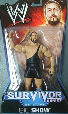 WWE Big Show 2005 Survivor Series Figure - Heritage Series PPV #10 by Mattel