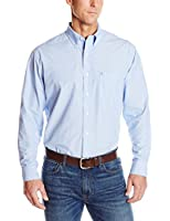 IZOD Men's Big and Tall Long Sleeve Essential Solid Shirt