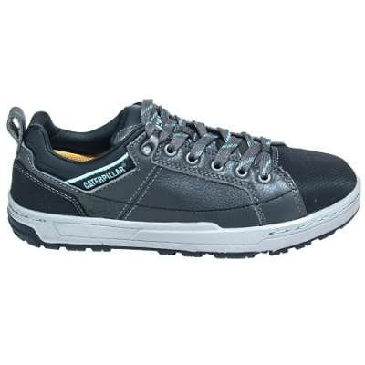 Caterpillar Shoes Women's 90266 EH Brode Grey Steel Toe Oxford Shoes