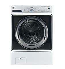 Designed with features like an extra-large capacity, the Kenmore Elite Smart Front-Load Washer makes laundry day stress-free.Download and connect to the Kenmore Smart app and enable Amazon Alexa voice controls to make laundry a breeze. With t...