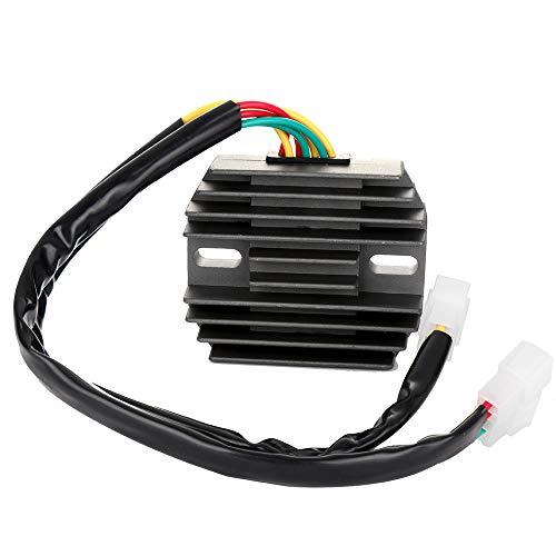 TUPARTS 31600-MAA-000 Voltage Regulator Rectifier Replacement Rectifier Fit for 1995-1996 Honda VT1100C Shadow 1997-2007 Honda VT1100C Shadow Spirit 1995-1999 Honda VT1100C2 Shadow ACE ()