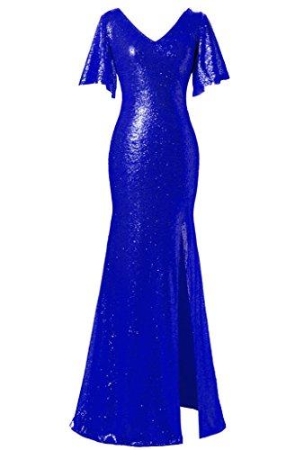 JYDress - Robe - Trapèze - Femme -  bleu - 36