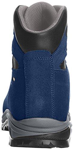 Asolo Tribe Gv Mm Botas de Senderismo de Cuero, para Hombre Azul - Bleu (Blu Navy)