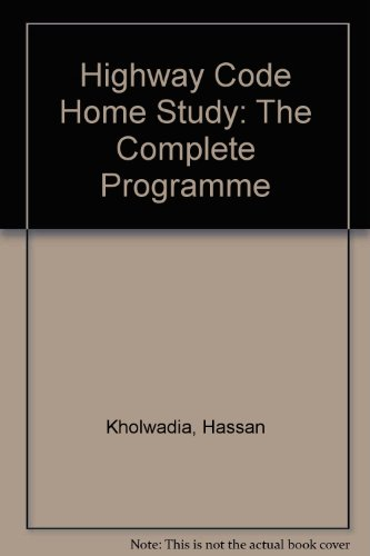 Highway Code Home Study: The Complete Programme