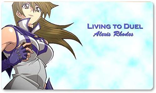 Living to Duel – Juego de mesa Yugioh Juego de mesa Tamaño 60 x 35 cm Mousepad MTG Play Mat para Yu-Gi-Oh! Pokemon Magic The Gathering: Amazon.es: Oficina y papelería