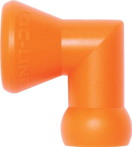 Loc-Line Coolant Hose Component, Acetal Copolymer, Elbow, 1/4 Hose ID (Pack of 2)
