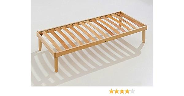 Baldiflex - Somier natural ortopédico de madera (110 x 190 cm)