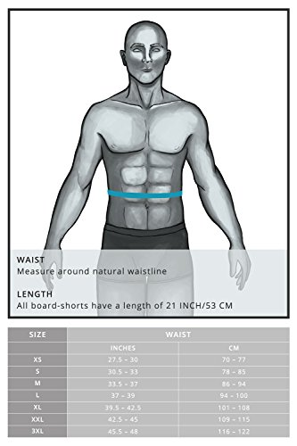 Musterbrand Street Fighter Bade-shorts Herren Ryu Badehose Boardshorts Grün