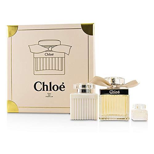 Chloe for Women 3 Piece Hard Box Set, 6.07 Ounce