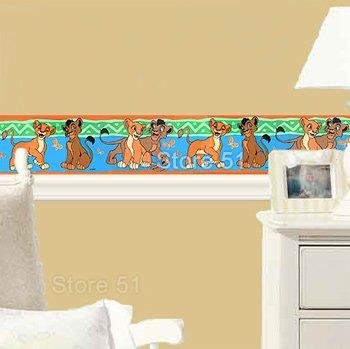 Amazon.com: The Lion King   Kiara And Kovo   Kids Wallpaper Sticker Border:  Home U0026 Kitchen