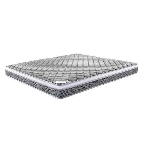 LD Amazon Brand Solimo 8 inch Queen Size Euro top Memory Foam Mattress 72x60x8 Inches