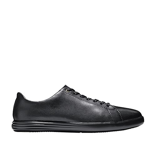 Cole Haan Men's Grand Crosscourt II Sneaker, Leather/Black,