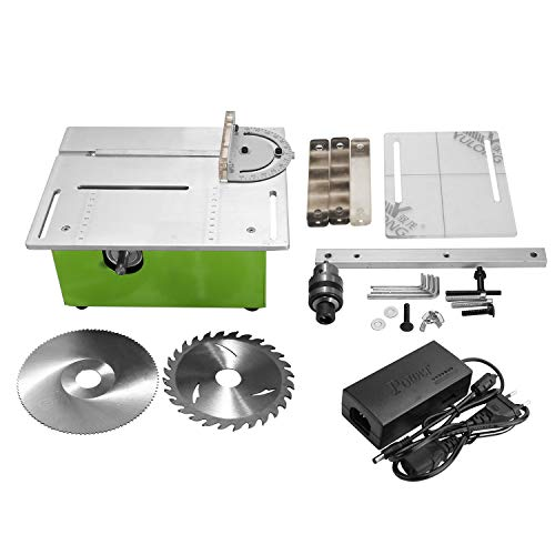 NEWTRY Multifunction Miniature Table Saw DIY Woodworking Chainsaw with Polisher Cutter and Mini Polisher and Grinder Cutting Machine