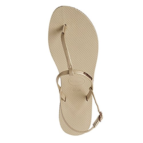 Havaianas Zehentrenner Damen You Metallic Gold