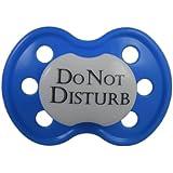 BooginHead Pacifier, Do Not Disturb Dark Blue (Discontinued by Manufacturer)