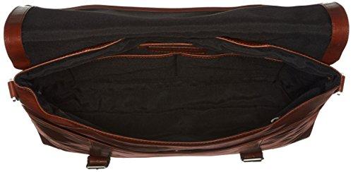RepubliQ hombro Shoppers Messenger Hombre bolsos de Royal Cognac Essential Marrón y OZFOdq