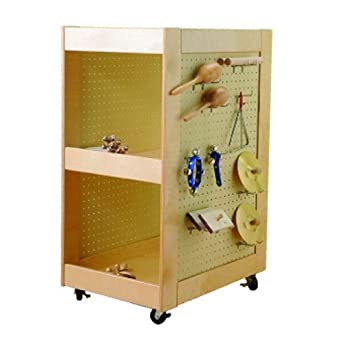 Charmant Band Instrument Storage Cart On Heavy Duty Casters With 20 Hooks