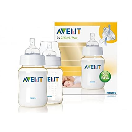 Philips AVENT - Pack 2 Biberones De 260 Ml Pes