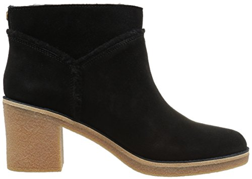 Black UGG Kasen Heeled Boot Suede Ankle Mouse zqaYxB