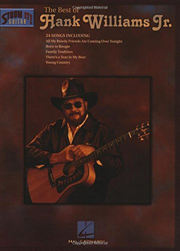 Amazon The Best Of Hank Williams Jr Strum It Guitar