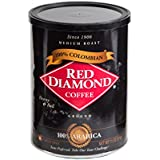 Red Diamond Colombian Ground Coffee Features