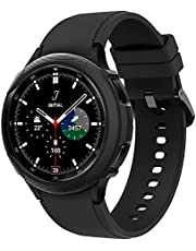 Spigen Compatible for Samsung Galaxy Watch 4 Classic Case Liquid Air - Black