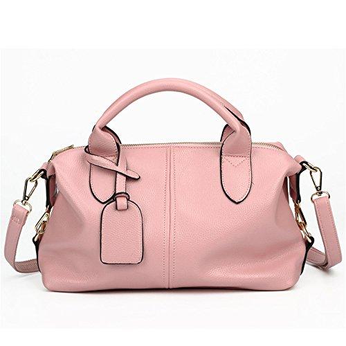 Bolso Solo Capacidad Lady'S Con Pink Rosa Nueva GWQGZ Hombro Gran Abarca Moda Y Solo Hombro tq1xS
