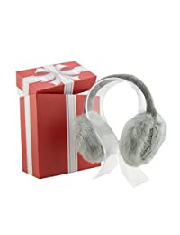 Music Muffs Durable Women's Wired Headphones Earmuffs with Gift Box - Lisa Anne Grey