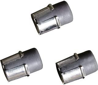 product image for Mech Pencil Eraser Refill, Rubber, Blk, PK3 (2 Pieces)