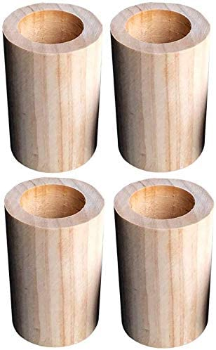 Gambe In Legno Per Tavoli.Piede Rialzato Per Mobili Gambe Per Tavoli Su Misura Letto Rialzo