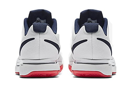 Nike Jordan Aero Flight Mens Scarpe Da Basket Bianco / Blu Binario