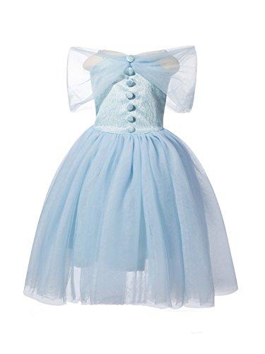 Merida's Little Brothers Costume (Uudora Girl's Cinderella Dress Princess Skirt)