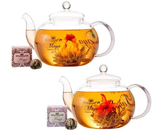 MAYA LUXURIOUS TEA Blooming Love & Happi...