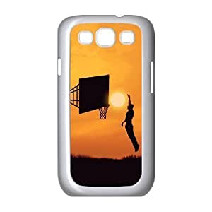 basketball Customized Cover Case with Hard Shell Protection for Samsung Galaxy S3 I9300 Case lxa#244442