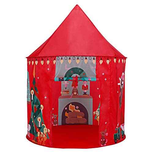 Gorich Christmas Kids Play Tent, Pop up Kids Tent Children Tent Toddler Tents for Indoor & Outdoors Use, Great …