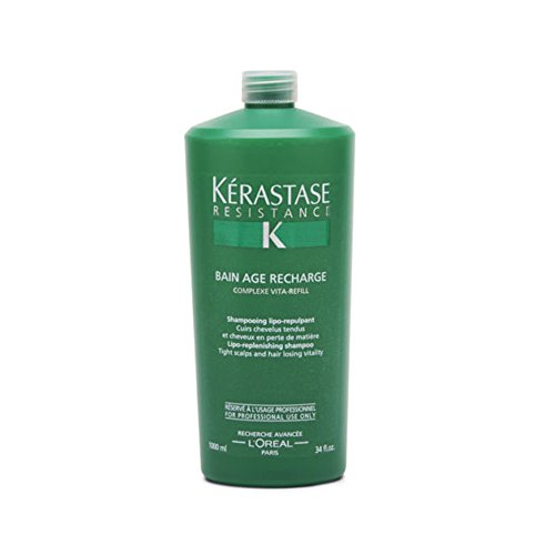 - Unisex Kerastase Resistance Bain Age Recharge Shampoo 1 pcs sku# 1790245MA