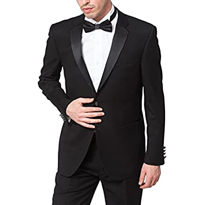 Adam Baker Men's Classic Fit Two-Piece Notch Lapel Formal Tuxedo Suit Set hot sale 4mRrSIvx