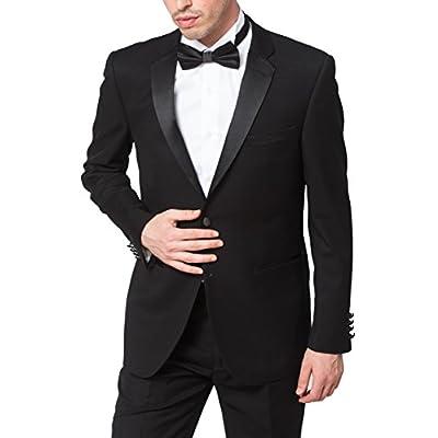 Adam Baker Men's Classic Fit Two-Piece Notch Lapel Formal Tuxedo Suit Set hot sale