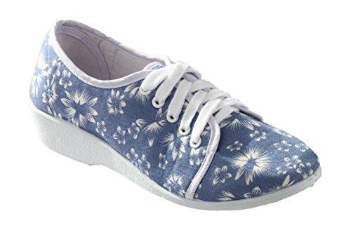 Floral en femme lacets pour chaussures Bounty Mirak d'été Rq160E
