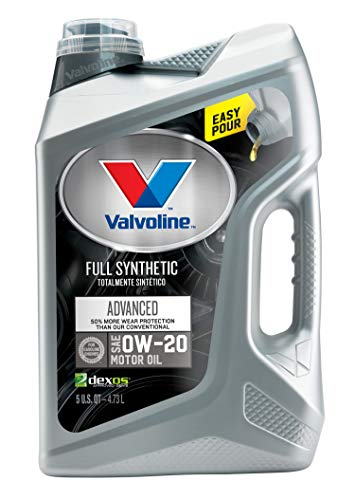 2011 Honda Accord Engine Motor - Valvoline  Advanced Full Synthetic SAE 0W-20 Motor Oil 5 QT