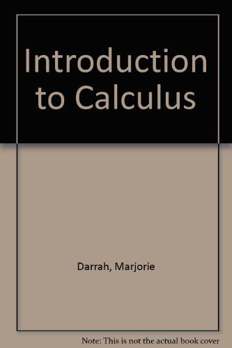 Introduction to Calculus