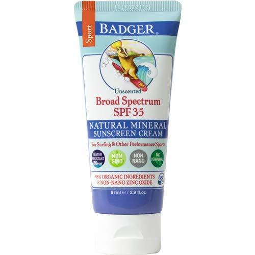 Badger SPF 35 Sport Sunscreen Cream - 2.9 fl oz Tube