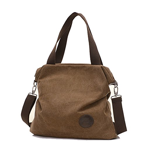 Mfeo Body Tote Bags Bag 3 Bag Casual Shoulder Cross Brown Women Messenger Canvas Bags rYfrqZ
