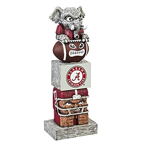 (Team Sports America NCAA Alabama Crimson Tide Tiki Totem )