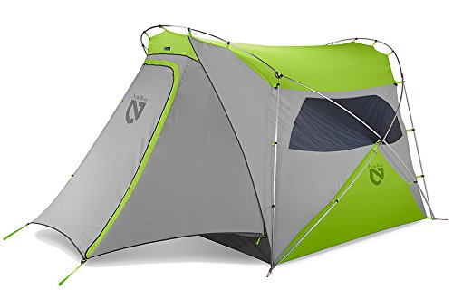 Nemo Wagontop 4P Camping Tent (Granite Grey/Birch Leaf Green)