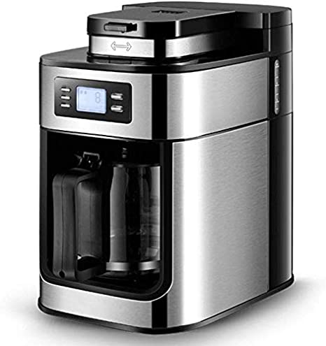 AMAZACER Cafetera monodosis K-Pod Copa Café Latte Y Capuchino Viene con seguridad la leche vaporizador de café tirados Capacidad de acceso frontal fácil de llenado 3 Opciones de elaboración de la cerv: