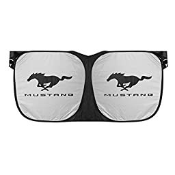Ford Mustang Sunglasses Style Folding Windshield Sun Shade