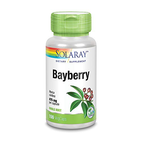 (Solaray Bayberry Bark of Root Capsules, 475 mg, 100 Count)
